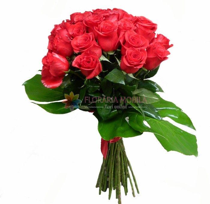 buchete din 27 trandafiri rosii