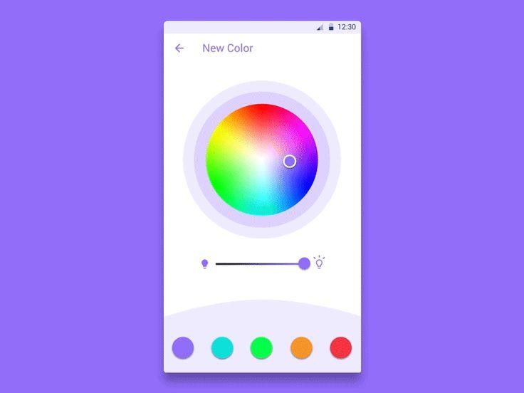 Color picker by Jordan Nelson