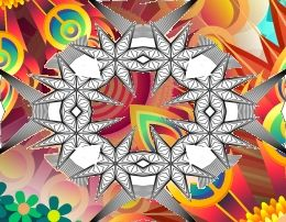 Free Adult Coloring Books in the Kaleidoscope Style