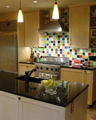 This Crazy Colorful Backsplash Comes From Austin Interior Design Firm Refined Interiors