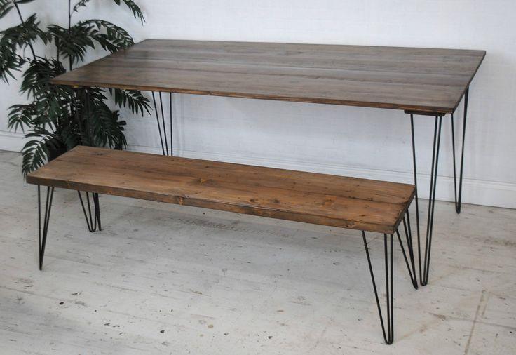 metallista ja puusta, kierrätyspuu tuolit, penkit ja pallit penkki mittatilauspoyta.fi/tuotteet/tuolit-ja-penkit
