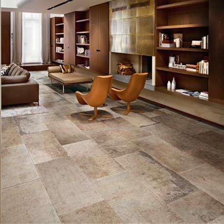 La Roche di Rex - A complex understanding between man and nature lies at the basis of La Roche di Rex, a densely stratified stone with distinctly French overtones. #stone #laroche #roche #floor #pavimento #pietra #tile #piastrelle #lastre