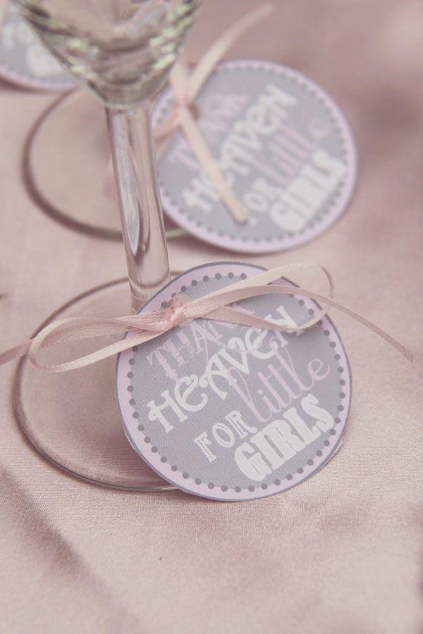 Une Baby shower en rose et gris