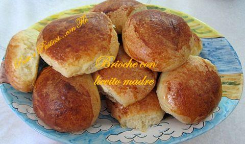 Brioches siciliane con pasta madre