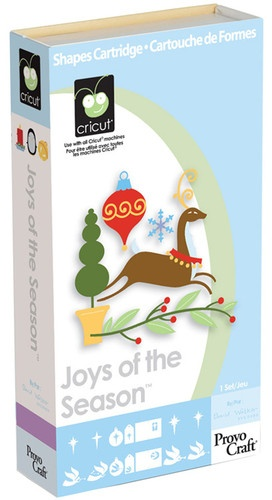 JOYS OF THE SEASON Cricut cartridge
