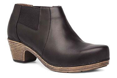 Dansko Marilyn Black Full Grain