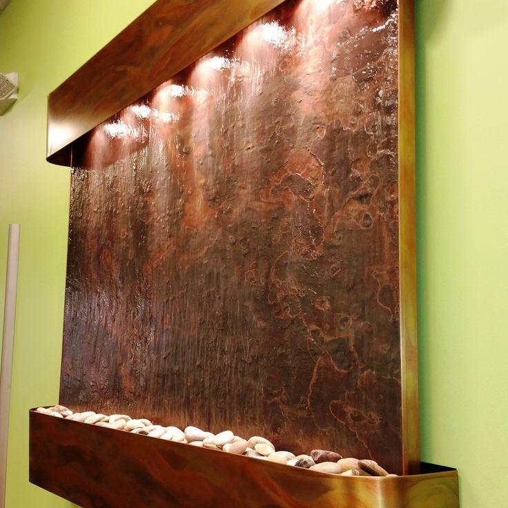 Adagio Teton Falls installed by Pondering Waters,LLC www.indoorwaterfalldesign.com