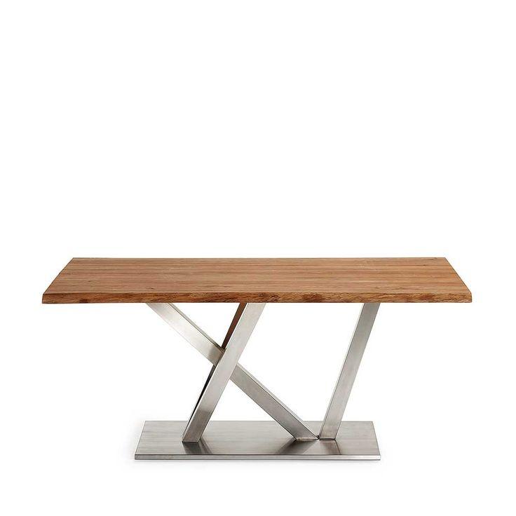 Baumkanten Tisch aus Eiche Massivholz Edelstahl Jetzt bestellen unter: https://moebel.ladendirekt.de/kueche-und-esszimmer/tische/esstische/?uid=b5597492-47ff-54ef-8fa7-6c93f5c24391&utm_source=pinterest&utm_medium=pin&utm_campaign=boards #tischgestell #designertische #vollholztisch #esstische #esstisch #designer #massiv #echtholztisch #tische #kueche #küchentisch #massivholz #essenstisch #massivholztisch #design #tisch #esszimmertisch #eßtisch #esszimmer #holztisch Bild Quelle: pharao24.de