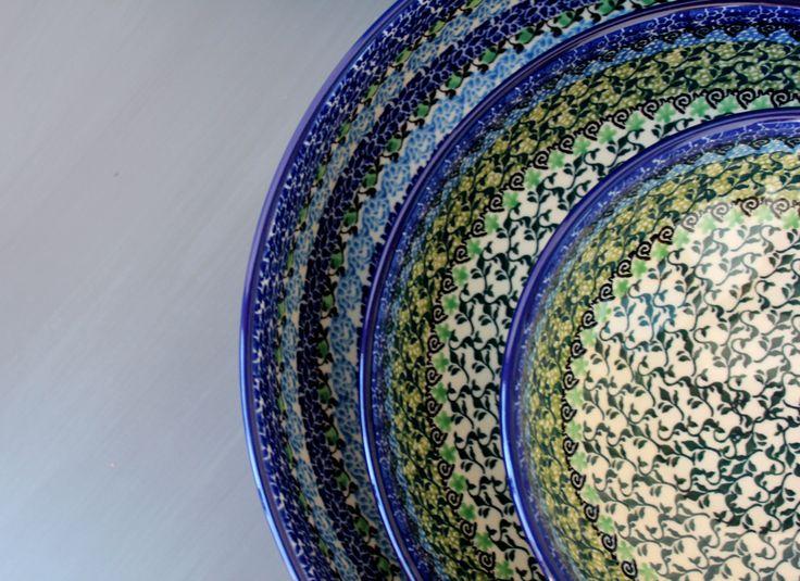 Traditional Handmade Polish Pottery . ELIMAshop.cz