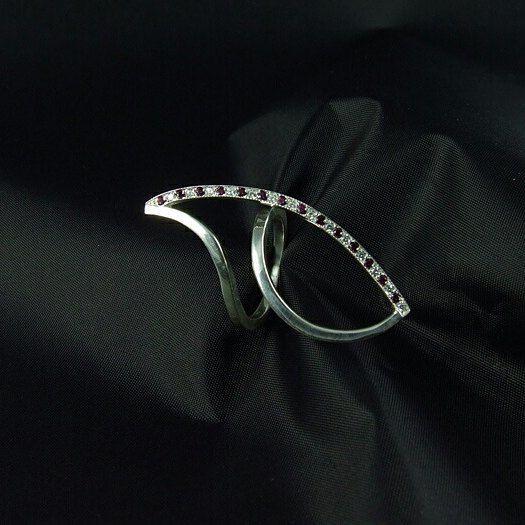 jewerly_gallery_galani Кольцо УГОЛ #кольцо  #крупное кольцо #большие кольца #подарок девочке  #подарок девушке  #ручная работа  #galani