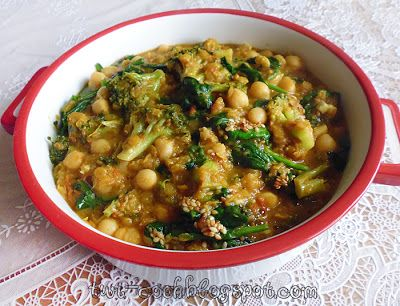 The Way I Cook: Chickpea, Tomato & Spinach Curry