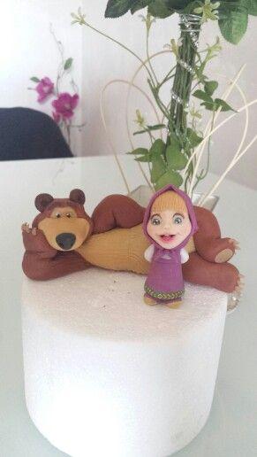 Masha and orso fondant