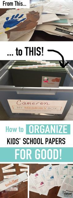 Oh my gosh... YES! Finally a great way to organize kids school papers once and for all-- from their toddler years through twelfth grade! What a great keepsake to pass on to your kids too! Hundreds of moms are loving this amazing method to organize school papers... and you'll be doing a happy dance once you start using this method too!