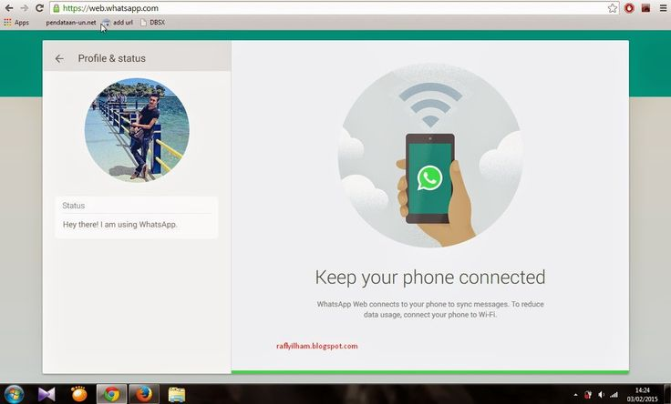 instal whatsapp for pc
