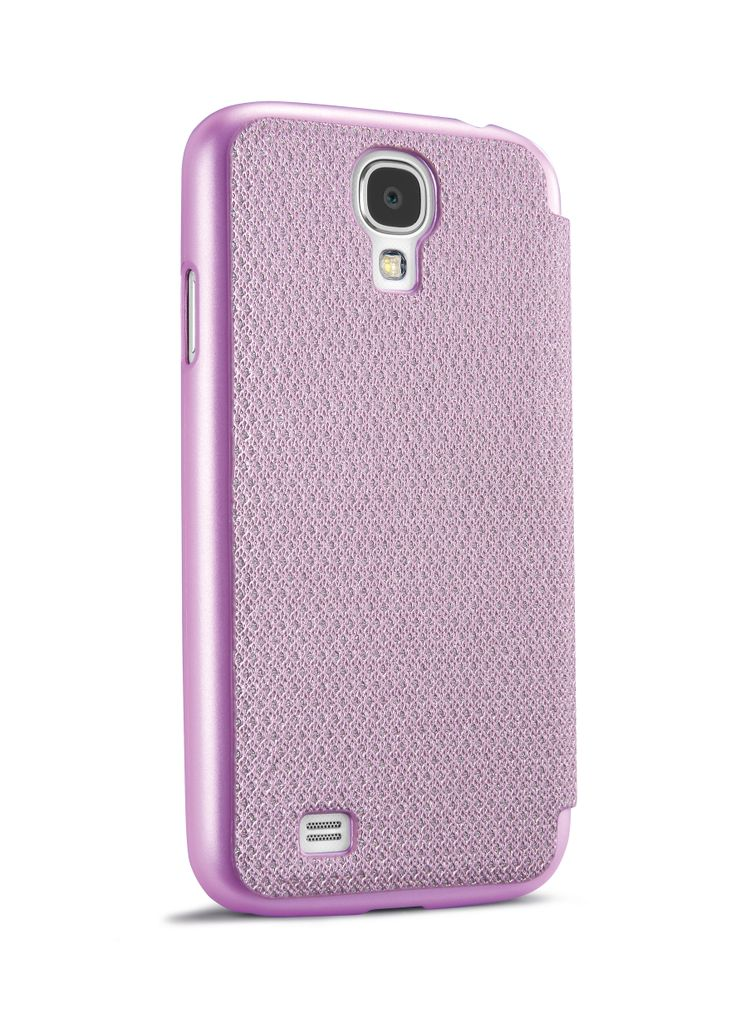 Custodia Book Glitter per Samsung #Galaxy #S4.    #pink #cellularline