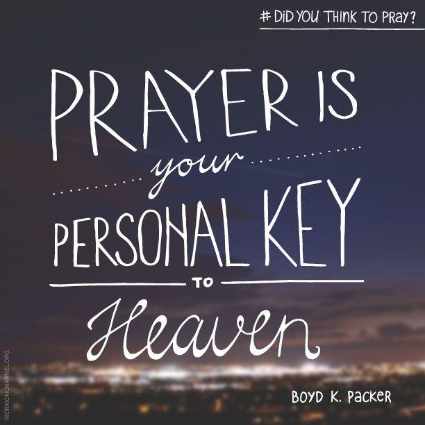 Quotes On Prayer: Lds Quotes On Prayer. QuotesGram