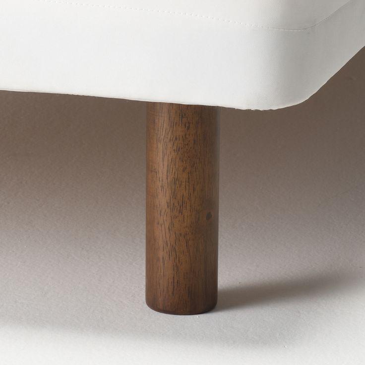 脚・脚付マットレス用・床下20cmタイプ/ブラウン 4本組・ブラウン | 無印良品ネットストア