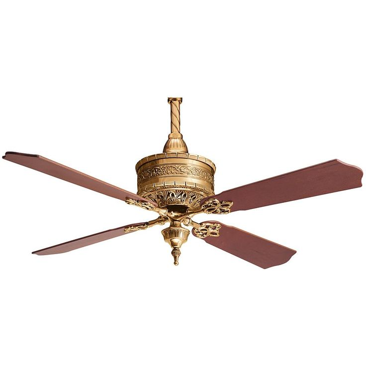 Burnished Brass Ceiling Fan : 15NY0 | Bright Light Design Center