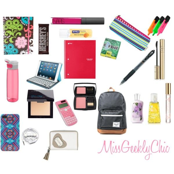 My school essentials