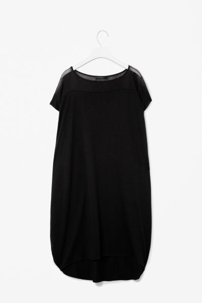 Mesh back dress from Cos