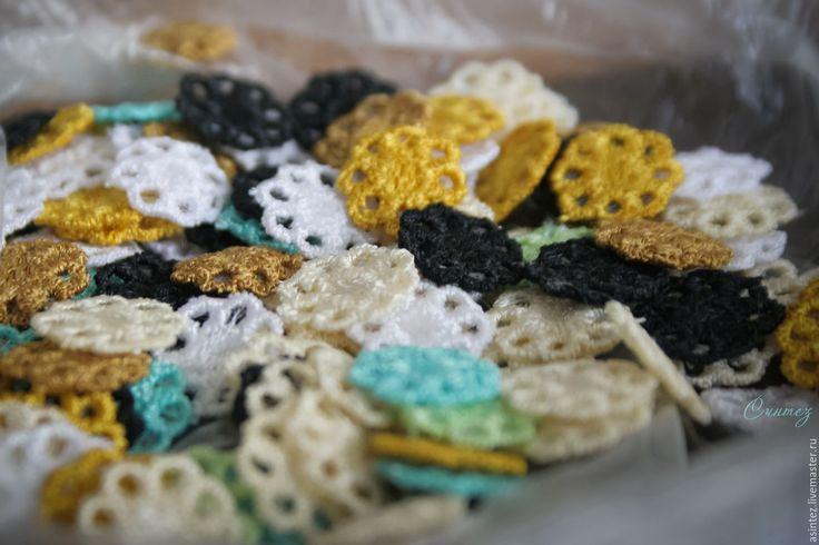 Купить вышивка, аппликация ажурная ромашка - вышивка машинная, аппликация вышитая, декоративные элементы