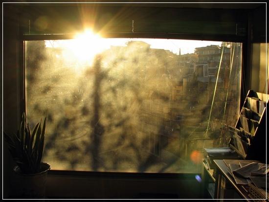 오후 네시, 여울 풍경