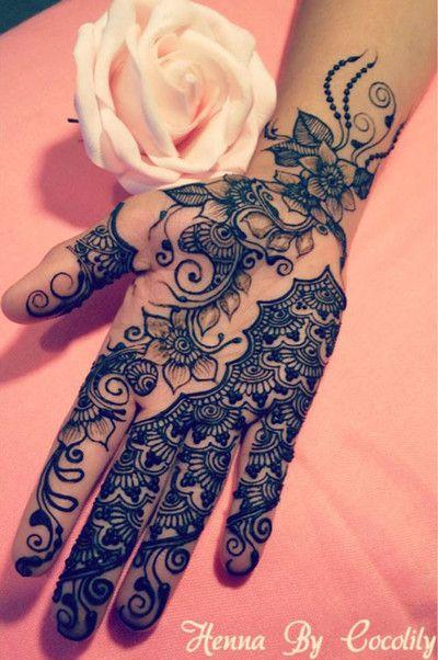 #mehendi #henna #hand #design #gorgeous #art