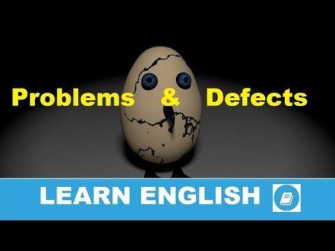 English Vocabulary Builder - Problems & Defects - E-Angol