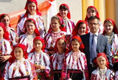 Pusztina csángó magyarok