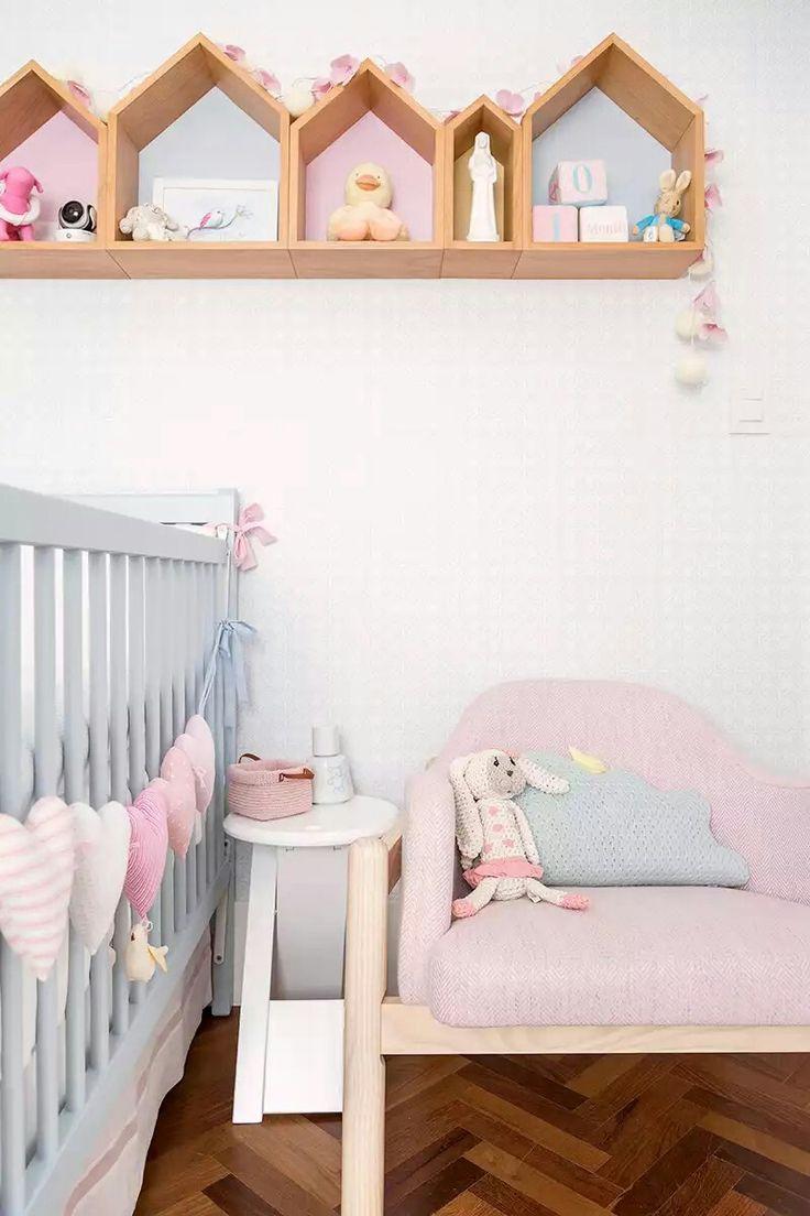 As 213 Melhores Imagens Em Quarto Da Beb No Pinterest Kit Ber O  ~ Decoração De Quarto Artesanal E Quarto Casal E Bebe Junto