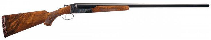 Engraved Ithaca Double Barrel Grade 4E Hammerless Side by Side Shotgun
