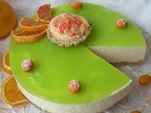 Pomarańczowy sernik na zimno (z kisielem)