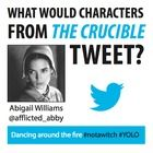 FREE DOWNLOAD! What would characters from The Crucible tweet? Students craft tweets in the perspective of their assigned character... hilarious and teaches them characterization!