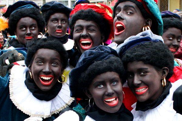 Zwarte Pieten.