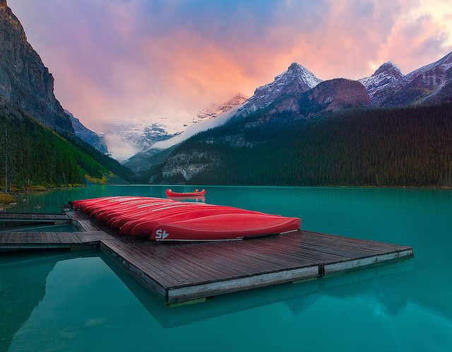 Lake Louise, Banff, Canadian Rokies - I'm thinking we need to go back to Canada.