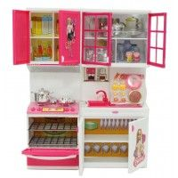 Barbie - Cooking Fun Kitchen Toy