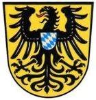 Wappen der Stadt Schongau; dort wo die Romane: die Henkerstochter von Oliver Poetzsch spielen