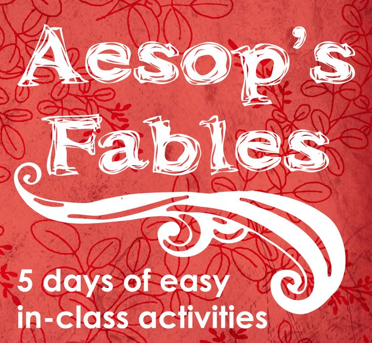 64 page FABLE workbook.     Everything for a full unit on fables. Free printable/downloadable PDF.   http://gec.kmu.edu.tw/~lc/ecorner/eBook/Teaching%20With%20Aesop's%20Fables.pdf