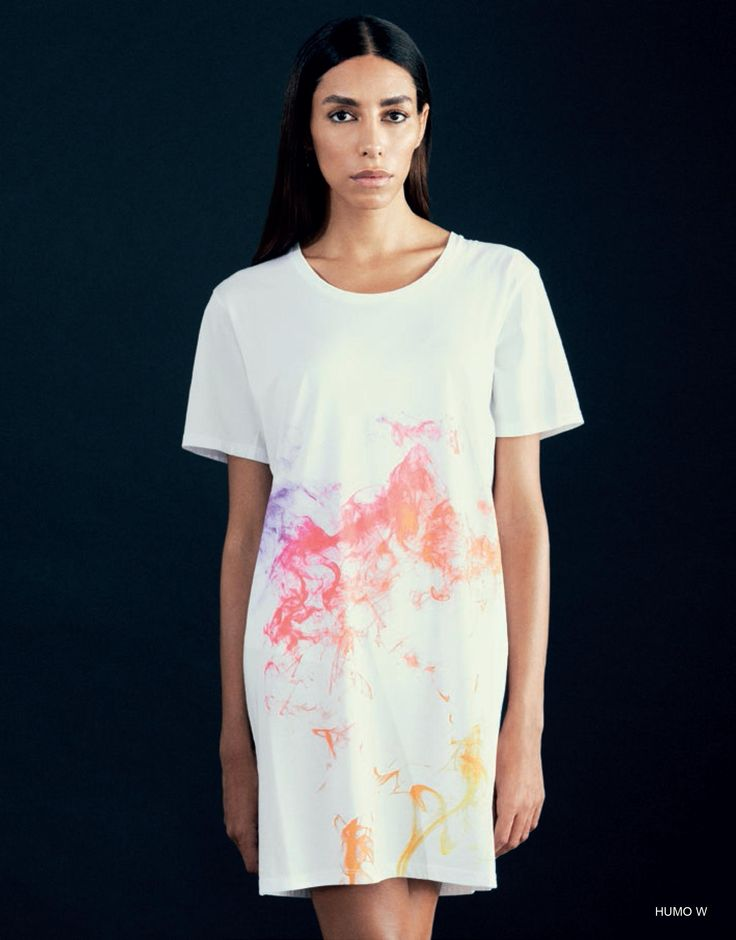 HUMO white t-shirt