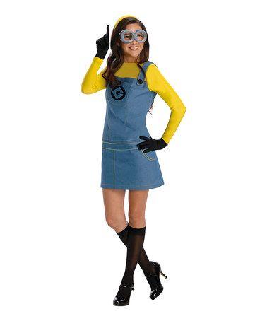 Look what I found on #zulily! Minions Costume Set - Women #zulilyfinds