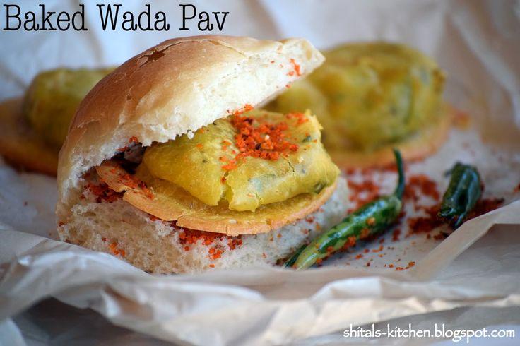 Shital's-Kitchen: Baked Wada Pav