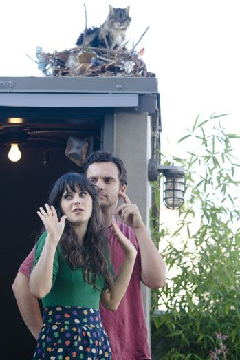 New Girl - behind the scenes pics