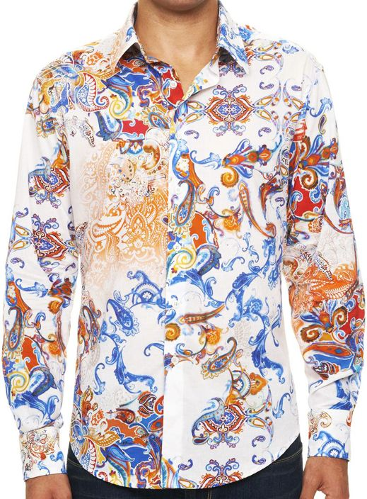 Robert Graham GRULLO Shirt, Style RS141039, Spring 2014