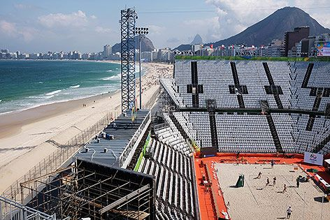 Österreicher eröffnen Copacabana-Show - Rio 2016 - sport.ORF.at