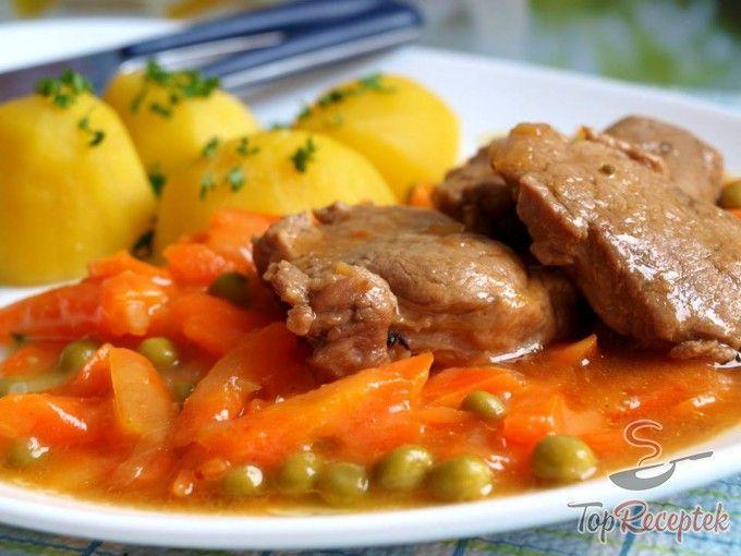 Sárgarépás-borsós mártás húsokhoz