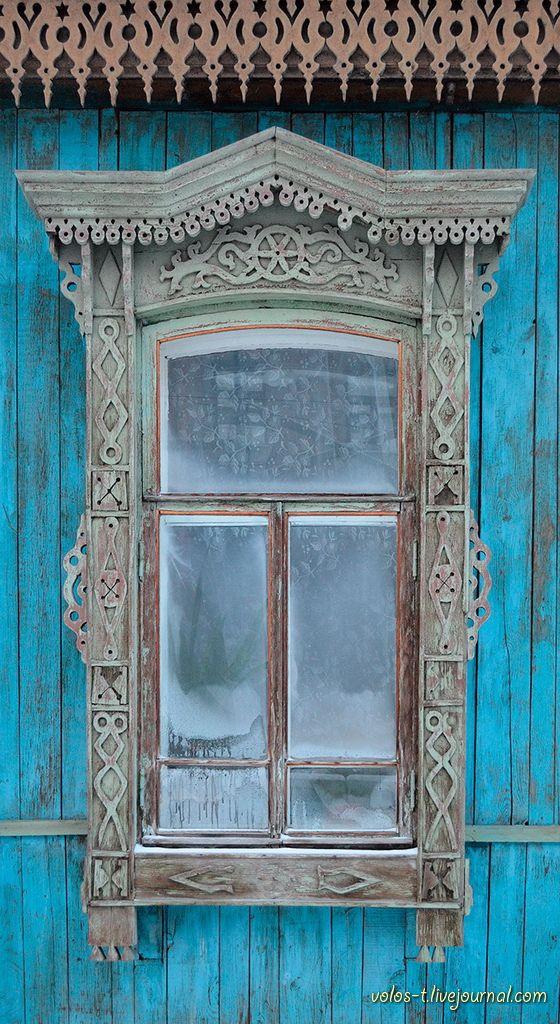 decorative carved wood window frame, yekaterinburg, russia | architectural details #nalichniki