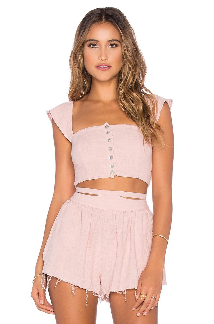 SUN AND SAND WOVEN CROP TOP SOMEDAYS LOVIN