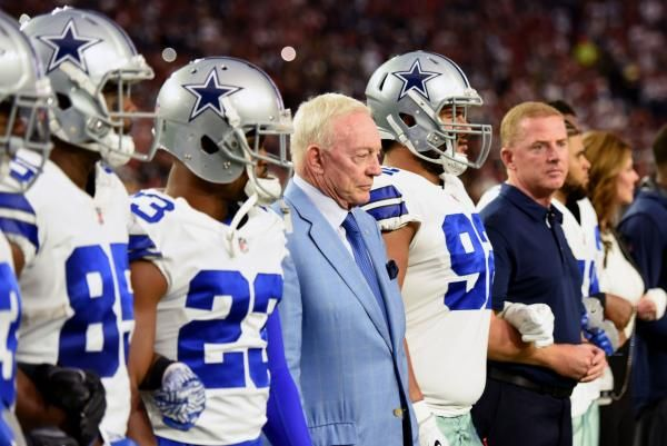 FRISCO, TEx. -- That Dallas Cowboys owner Jerry Jones is a unifier and a consensus builder was never more evident than Monday night.