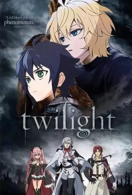 Owari no Seraph   Funny XD Although I would watch this version MikaYuu all the way!