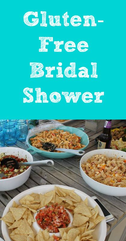 Gluten-Free Bridal Shower - spicy, smoked mozzarella past salad...sounds yummy!